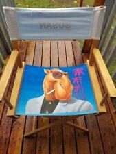 Vintage 90s Camel Cigarettes Directors Chair RARE JOE CAMEL MARLBORO SUPREME