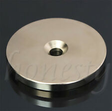 N52 50mm x 5mm Rare Earth Super Strong Magnets Round Discs 6mm Hole Neodymium