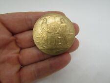 médaille bronze souvenir exposition universelle 1900 french medal