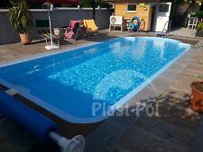 Gfk Schwimmbecken 9,50x3,70x1,55 Swimming Pool Zubehör Einbaubecken SET SUPER