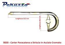830 Carter Copricatena in Acciaio Cromato a Striscia per Bici 20-24-26 Graziella