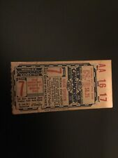 1946 World Series Ticket Boston Red Sox Cardinals Musial gm7 Clich Mad Dash