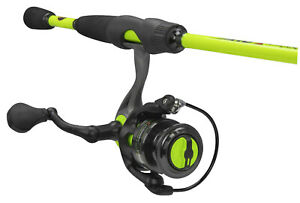 Lews HS2060L-2 Hypersonic Speed Light Spinning Rod & Reel Combo~FREE Shipping
