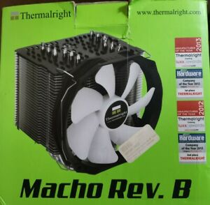 Thermalright Macho Rev.B Intel/AMD CPU Cooler with Enlarged Copper Base + Ultra