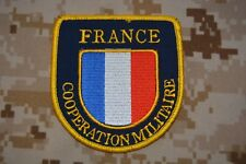 Z523 patch badge crest army military France military cooperation