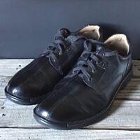 Ecco 47 Leather Black Shockpoint Casual Dressing Shoes