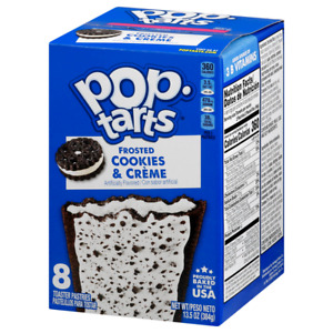 Pop Tarts Frosted Cookies and Cream 8ct (13.5oz)