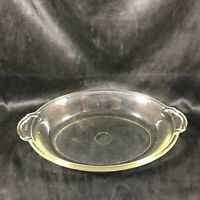 Vintage Original Logo PYREX 822 Oblong Clear Glass Dish Tab Handle