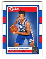 2017-18 Donruss THE ROOKIES #1 MARKELLE FULTZ RC Rookie 76ers QTY AVAILABLE