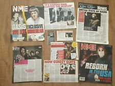 More details for oasis press newspaper magazine clippings cuttings brit pop noel liam gallagher