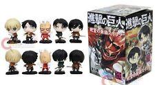 "US Seller Anime Attack On Titan Mini 2"" 5 pieces Figure Set with Box #att-805"