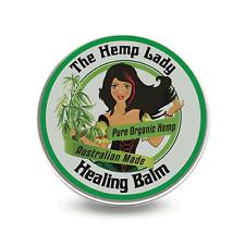 THE HEMP LADY HEALING BALM 50G TREAT SKIN RASHES BURNS HEAL NATURAL TREATMENT