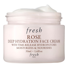 FRESH ROSE DEEP HYDRATION FACE CREAM 50ML FAST & FREE DELIVERY
