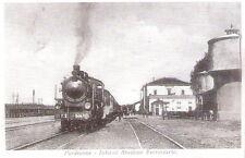 Cartolina 150° ANNIVERSARIO ARRIVO TRENO A PORDENONE - 1915: Interno stazione