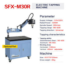 M6 M30 Electric Tapping Arm Machine Tapper Universal 360 Degree Flexible Arm