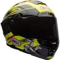 BELL STAR IOM TT ISLE OF MAN RACING MOTORCYCLE HELMET - X-LARGE *SAVE £150.00**