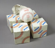 Lot of 4 Tag Collegiate Tsb-518-R Msp-47 Leather Official League Softballs - New