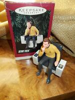 Hallmark Star Trek Captain Kirk ornament