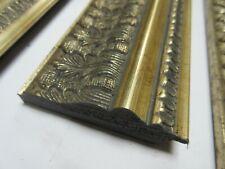 3.8m (4x95cm)80mm Ornate Decorative Antique Silver Polcore PictureFrame Moulding