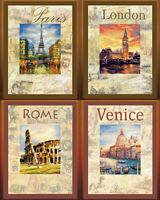 RIOLIS - Cities of the World - Kits with Pre-printed Background