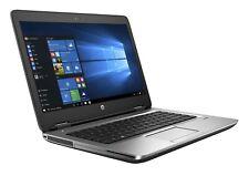 "HP PROBOOK 640 G2 14"" CORE i5 6TH GEN 8 GB RAM 128 GB SSD WEBCAM WIN 10 DVD RW"