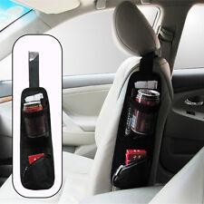 New Car Seat Side Storage Organizer Interior Multi-Use Bag Accessory Black nueva