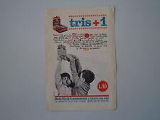 advertising Pubblicità (ANNI '60) GOMME TRIS +1 DOLCIFICIO LOMBARDO - LAINATE