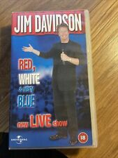 Jim Davidson - Red, White and very Blue Live Show - VHS Video
