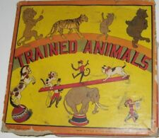 Trained Animals Toy Set No 6170, The Superior Stamp Company, 1928