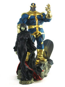 Sideshow Thanos & Mistress Death Diorama Statue Marvel Sample Infinity Gauntlet
