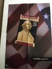 1989 Us Postal Service Poster # 645 Bicentennial Executive Branch