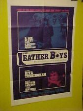 """""""The Leather Boys"""" (1965) Original U.S. One Sheet (Early Gay Theme)"""