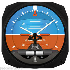 "New Trintec 10"" Artificial Horizon Aviation Instrument Clock Aviator 3063-10"
