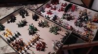 Heroquest Various Painted Miniatures lots lotti Miniature dipinte Hero Quest