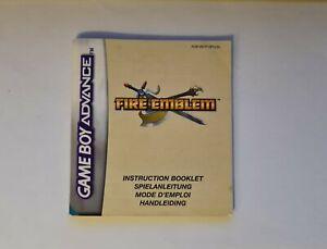 Fire Emblem Instruction Booklet / Manual (Game Boy Advance, GBA, 2004, PAL)