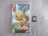 Jeux Console Nintendo Switch Pokemon Lets go Evoli