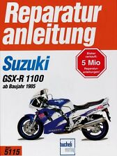 SUZUKI GSX-R 1100 ab1985 Reparaturanleitung Reparatur-Handbuch Reparatur-Buch
