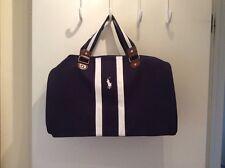 BRAND NEW RALPH LAUREN PARFUMS POLO BLUE WEEKEND / TRAVEL SPORT BAG Duffle Bag