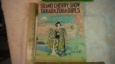 ES33 Grand Cherry Show Takarazuka Girls 1940 Golden Gate International Expo