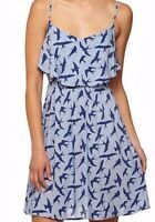 Cotton on Woman LOLITA TIERED FRONT STRAPPY CAMI DRESS - blue bird