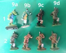 8x C15 FTO-9 orc advancing with axe & spear citadel gw fantasy tribes variant