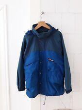 BERGHAUS retro jacket rainjacket coat in M Medium blue, original!