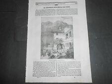 1841 CASTELLO BARANDELLO COMO BELLAGIO LA PEROUSE PIANTA DIONEA PASTA GLUTINOSA