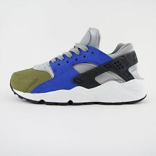 Nueva camiseta para niños Nike Air Huarache Run Premium Blue Zapatillas UK 4.5 BN 683818 007
