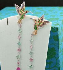 Sehr gute echte Ohrschmuck Butterfly-Verschluss und VVS1 Reinheit