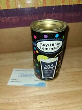 Royal Blue lemonade Raspberry 8OZ Tin BB 05/2022 8oz Tin