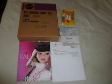 NEW BARBIE NITE LIGHTNING STACEY DOLL & MOD SHOES LOT REPRODUCTION 2005 MATTEL >