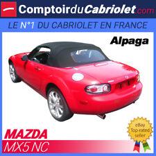 Capote Mazda MX5 NC cabriolet (2006 - 2015) - Toile Alpaga Stayfast