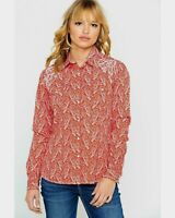 nwt PANHANDLE SLIM Roughstock Red PAISLEY Scroll concho Pearl Snap WESTERN SHIRT
