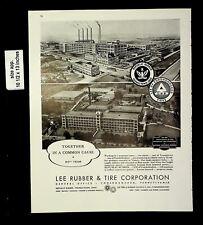 1943 Lee Rubber & Tire Co Vintage Print Ad 19985